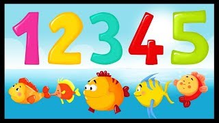 12345 J'ai attrapé un poisson - Comptines et chansons pour les petits - Titounis