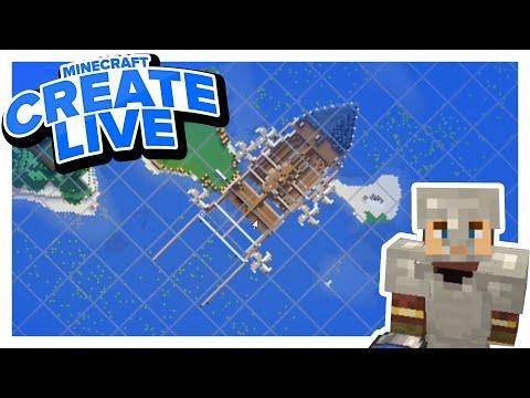Die ROTOREN fürs Luftschiff ⚙ CREATE LIVE #09 | Clym