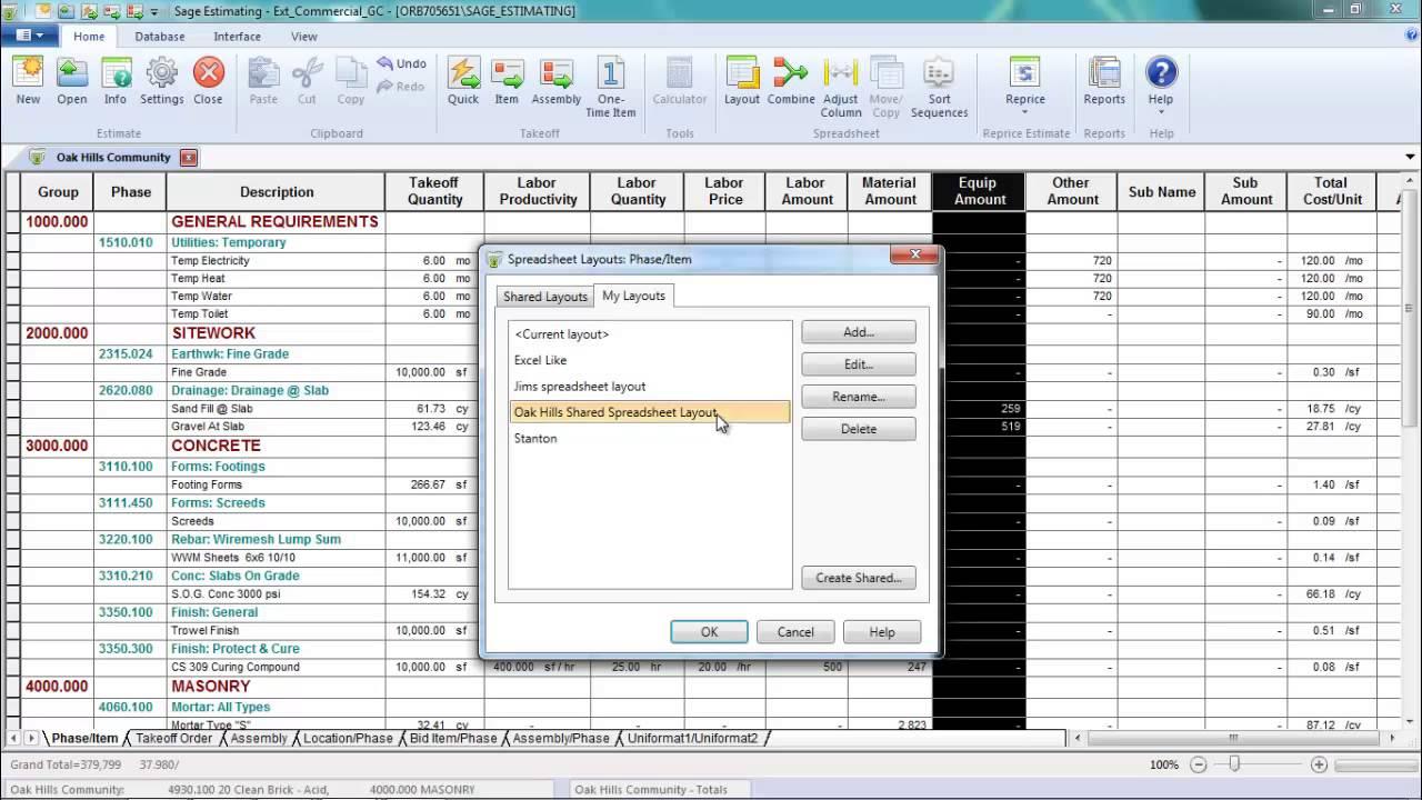 Sage Estimating - Win Work Faster!