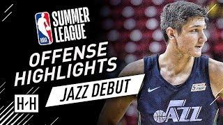 Grayson Allen Full Offense Highlights at 2018 NBA Summer League - UTAH Jazz Debut!