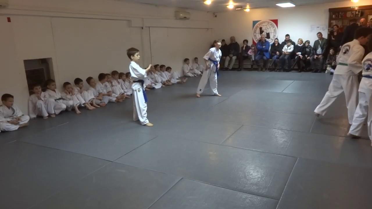 Klub realnog aikidoa i jujutsu Novi Sad Polaganje za
