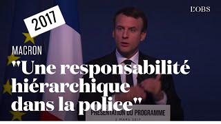 Quand Emmanuel Macron en appelait à