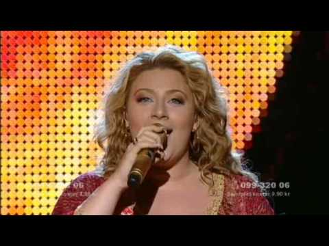 Sarah Dawn Finer 'Moving On' Melodifestivalen 2009 (Kempe)