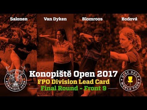 2017 Konopiště Open FPO Final Round Front 9 (Salonen, Van Dyken, Blomroos, Bodová)