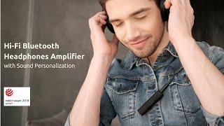 WHOOSHI   HiFi Bluetooth headphones amplifier & Sound personalization