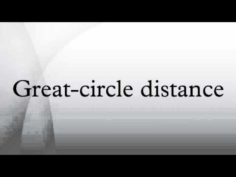 Great-circle distance