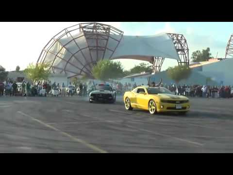 Police Car Join The Cars Drift Show Ford Mustang Youtube
