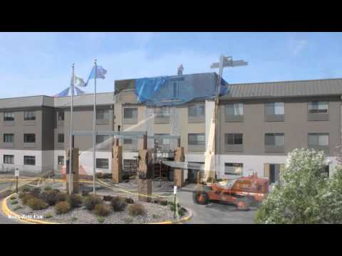 Holiday Inn Express & Suites Renovation TimeLapse