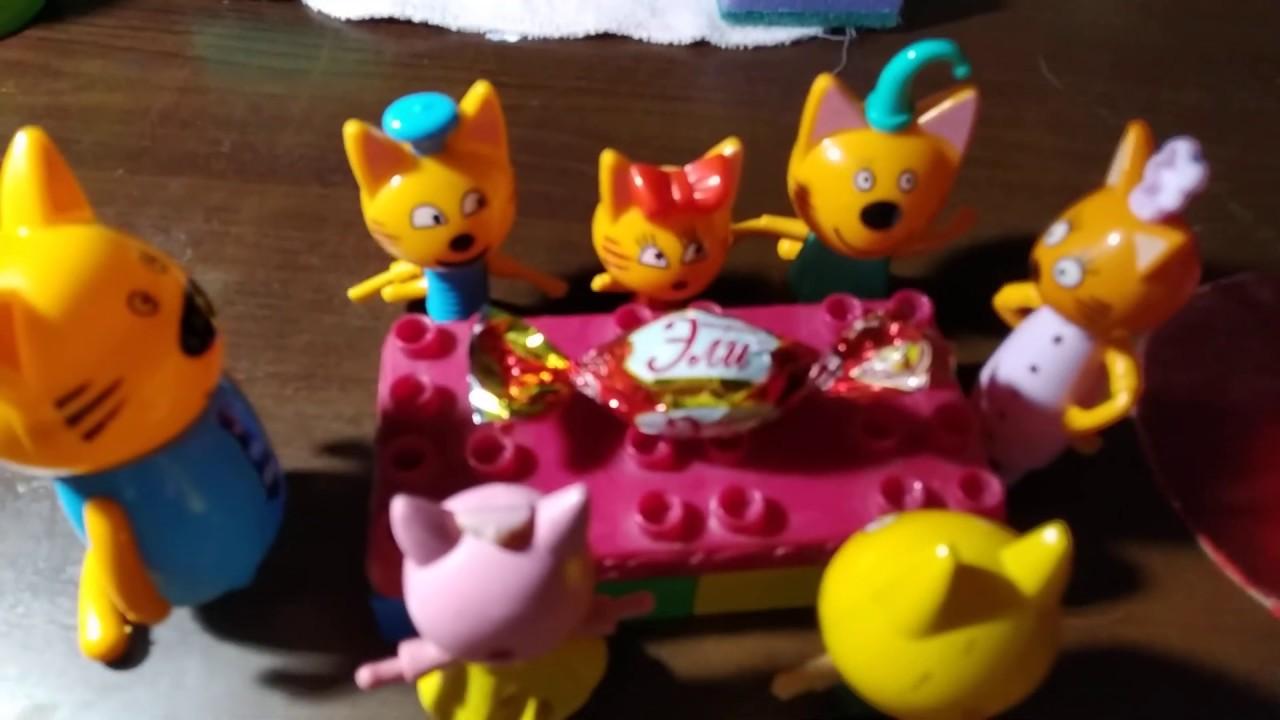 Три кота. Новый год - YouTube