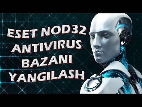 Eset NOD 32 Antivirus Bazani Yangilash