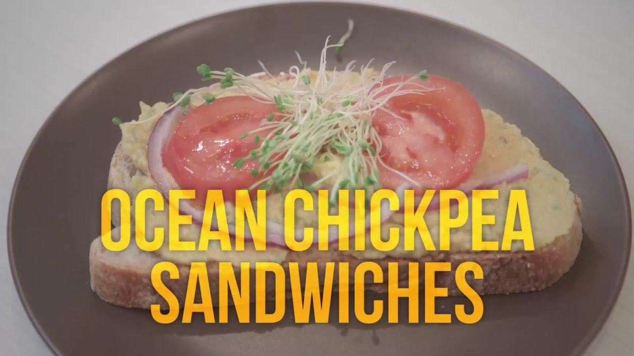 Ocean Chickpea Sandwiches