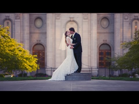 Utah Wedding Video      Kimberly & Brett - SLC Temple Highlight Video (Wedding)