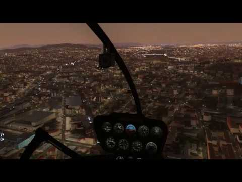 X Plane 11 - Hungary VFR - Budapest City beta preview