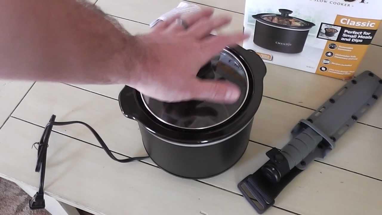 Crock Pot 15 Qt Unboxing