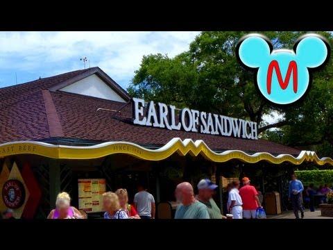 Earl Of Sandwich Tour and Menu at Disney Springs