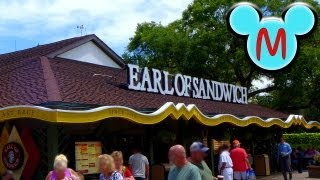 Earl Of Sandwich Tour And Menu At Downtown Disney