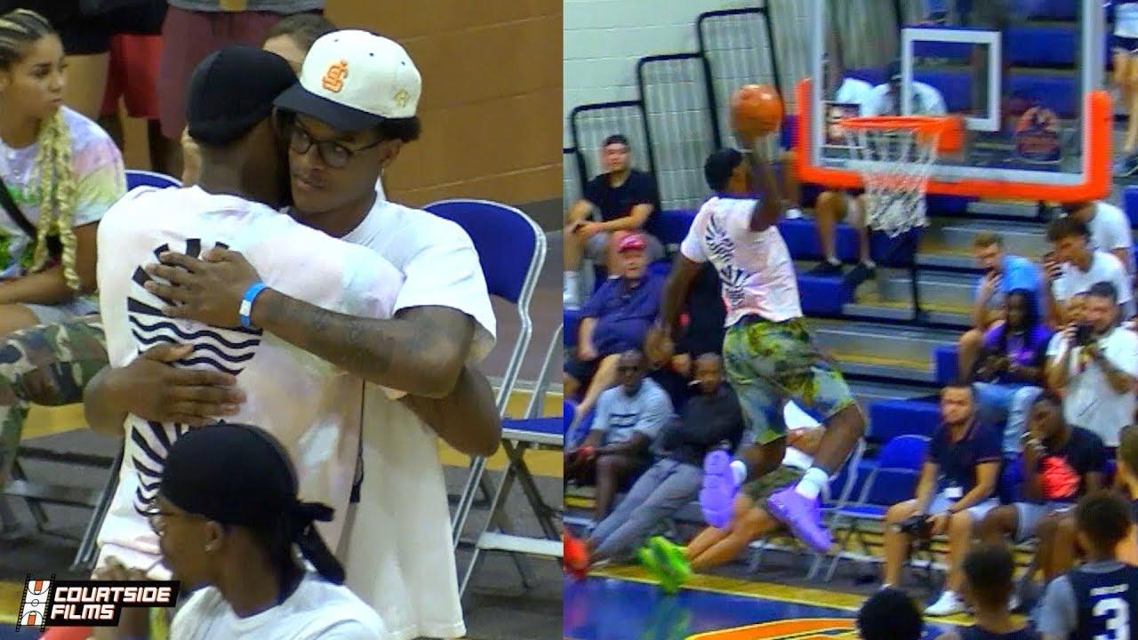 NBA Le conseil de LeBron James à son fils avant chaque match