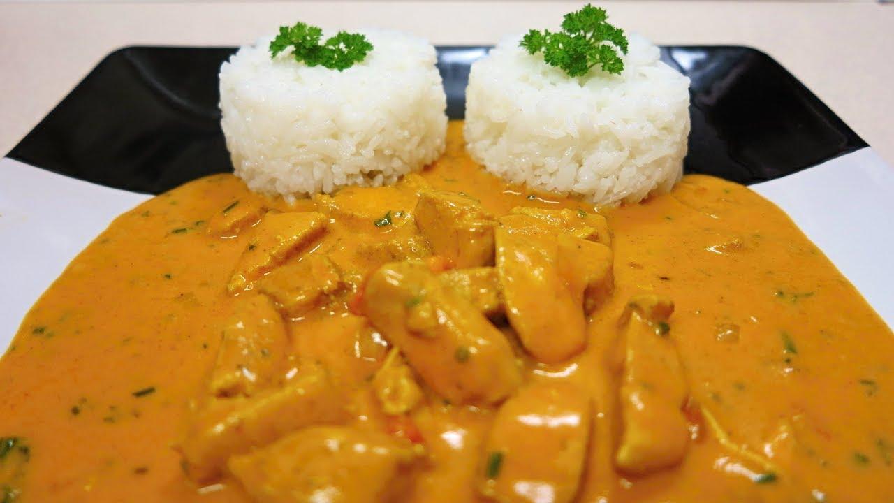 Download Kuřecí prsa na kari s jasmínovou rýží
