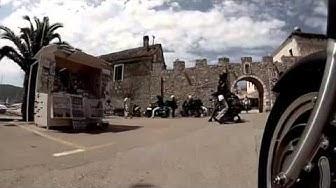 Biograd Croatia HOG Rally 2014 Road Video Session Roma Chapter