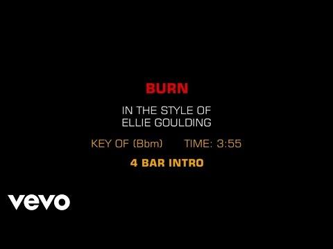 Ellie Goulding - Burn (Karaoke)