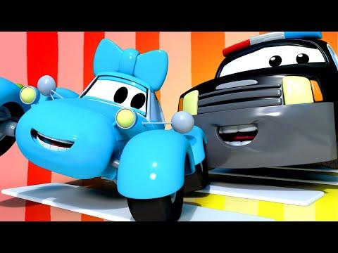 Patrol Policyjny Stój, Patrz i Słuchaj Miasto Samochodów  Bajki Dla Dzieci