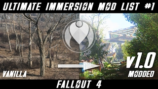 v1 0 complete ultimate immersion fo4 mod list   fallout 4