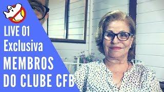 Live 01 Membros Clube CFB - 31 out 2018 - Caça fantasmas Brasil