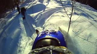 2012 Snowmobile season wrap up video