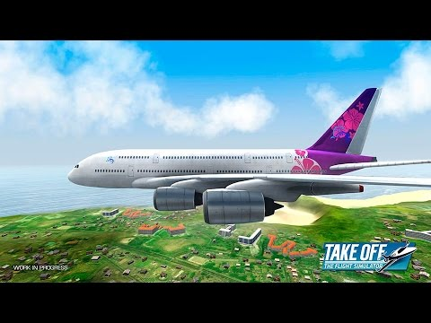 TAKE OFF THE FLIGHT SIMULATOR Android / iOS Gameplay