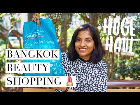 Beauty Shopping in Bangkok + HUGE HAUL! // Magali Vaz