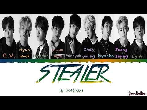 D-CRUNCH(디크런치) - 'Stealer' HAN/ROM/ENG Color Coded Lyrics