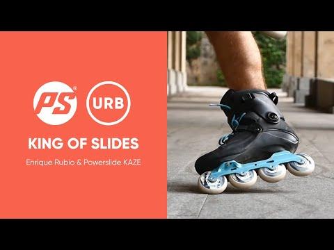 King of slides - Enrique Rubio & his Powerslide KAZE Urban inline skates - 908140