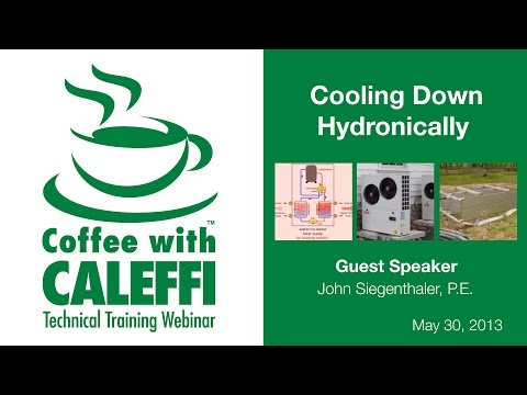 Hydronic Cooling Options for Residential & Commercial Buildings