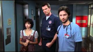 Scrubs - Carry On My Wayward Son (Ted's Cover)