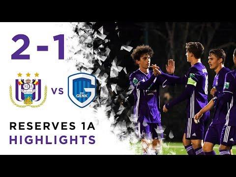 Reserves 1A RSCA 2-1 KRC Genk Highlights 23/11/2018