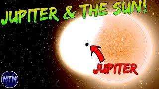 Jupiter CRASHES INTO the Sun!   Universe Sandbox 2