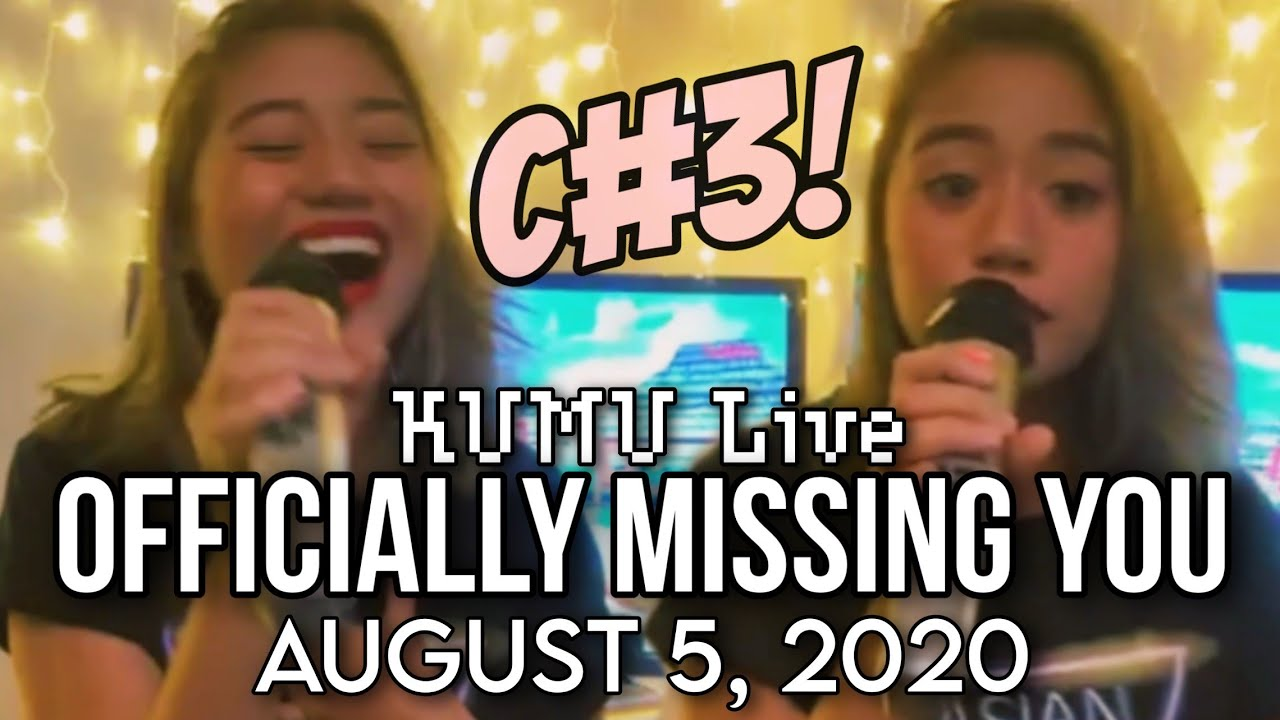 OFFICIALLY MISSING YOU with C#3 – Morissette Amon (August 5, 2020)