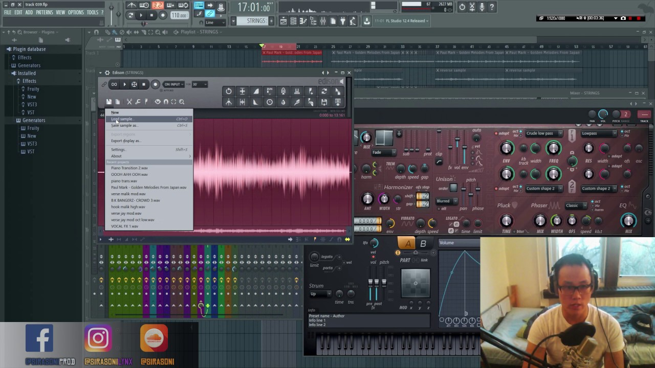 resynthesis Exploring resynthesis with harmor in fl studio gary hiebner on apr 12, 2017 in fl studio 0 comments share:  at heart harmor is an additive synth, but this resynthesis method takes it to a whole new level let's take a look at how you can resynthesize your audio with harmor.