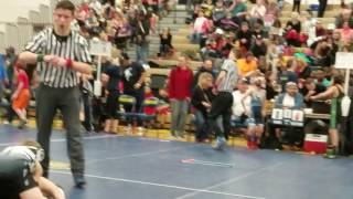 Daven Lockwood wrestling highlight 2017
