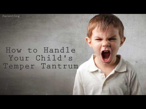 How to Handle Your Child's Temper Tantrum | Ventuno The Raising - Parenting Show