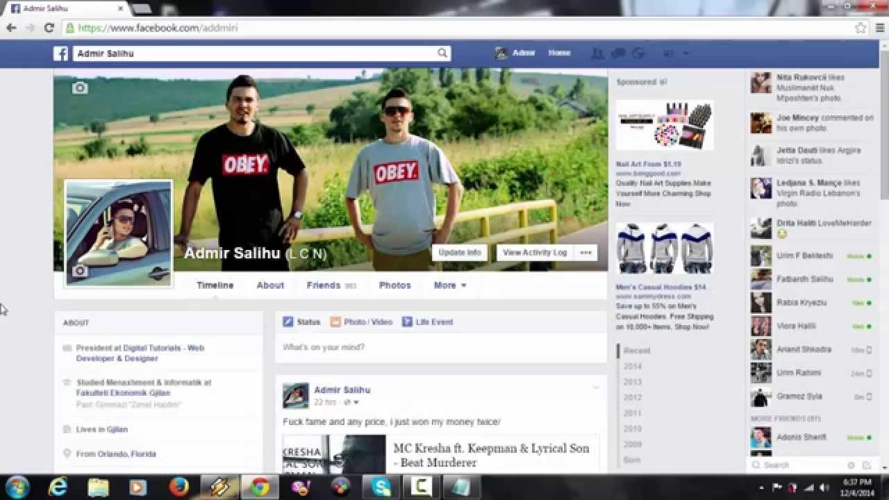 фото для фейсбука на профиль