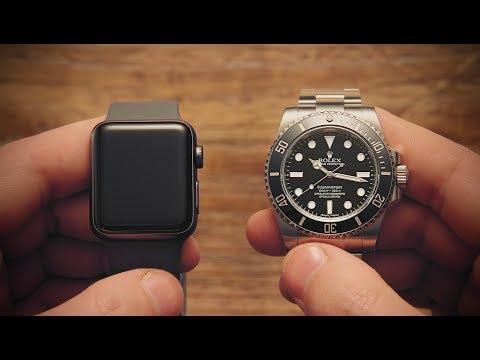 Win Apple Watch Vs Rolex Submariner Watchfinder Co Youtube