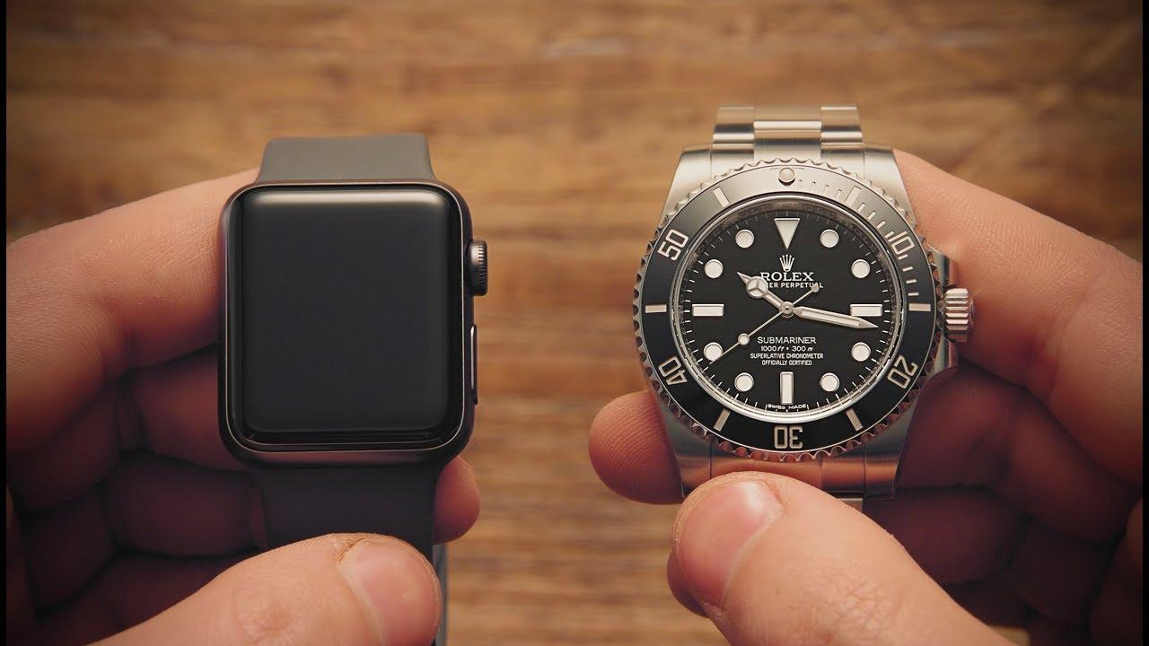 Win! Apple Watch vs Rolex Submariner