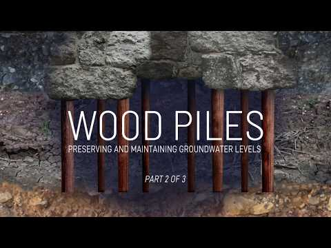 Wood Piles: Preserving And Maintaining Groundwater Levels Part 2 Of 3