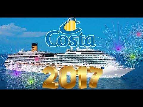VLOG CROCIERA 2017    MEDITERRANEO    COSTA PACIFICA