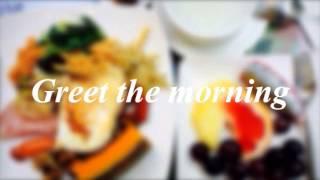 Great breakfast buffet at Hoya hot spring resort in Taiwan.