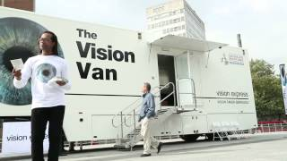 The Vision Express National Eye Health Week 2014 Vision Van