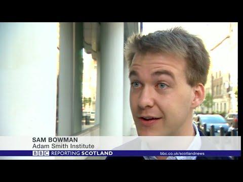 "Sam Bowman discusses new ASI report ""Quids In"" on BBC Scotland"