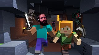 Minecraft * Streamer Latino * buscando tesoros en el nether