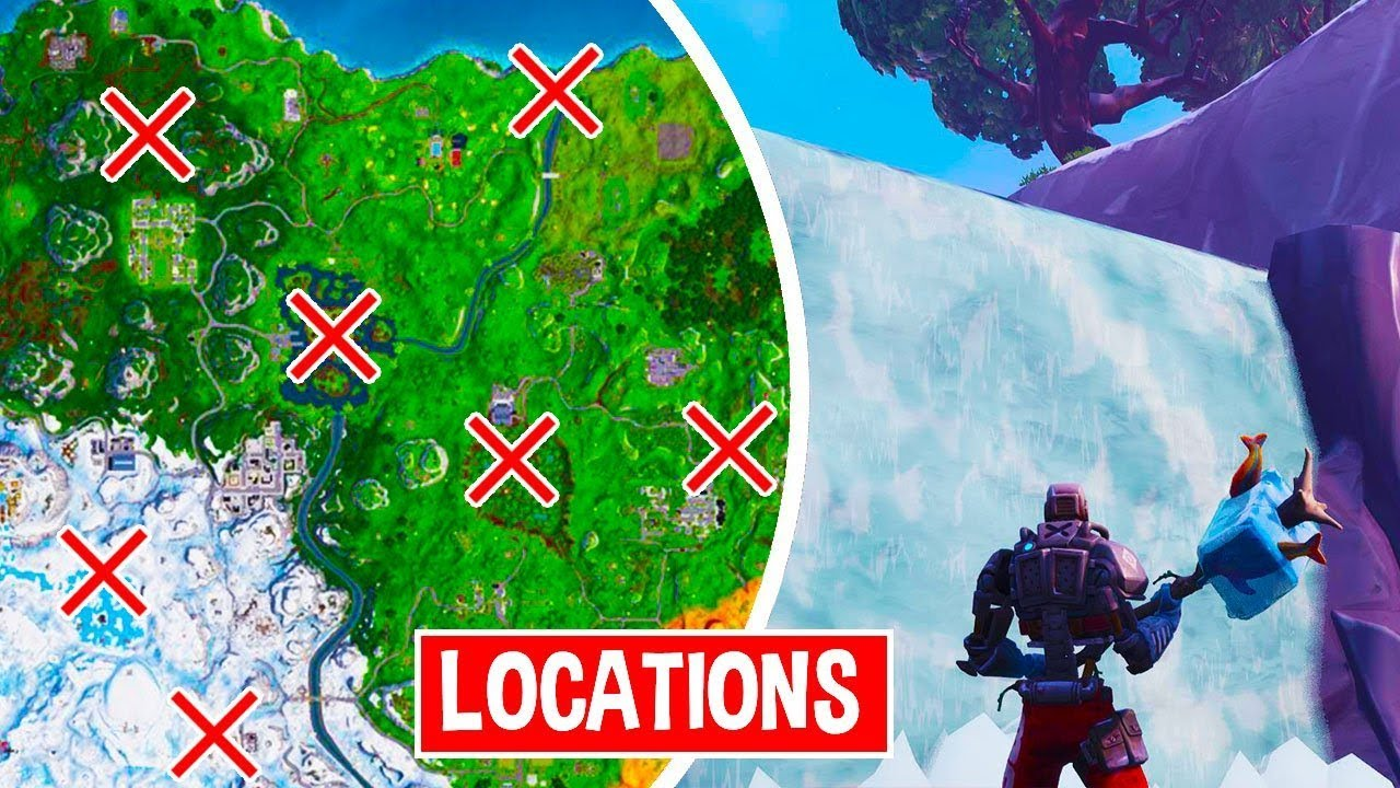 fortnite waterfall locations